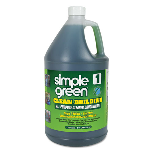 Simple Green SMP11001 clean building all purpose cleaner concentrate 1gal bottle