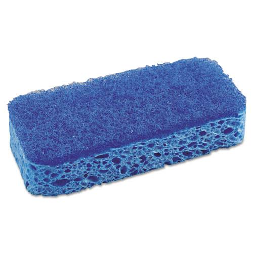 SOS CLO91017 all surface scrubber sponge 2.5x4.5 1 thick blue 12 carton