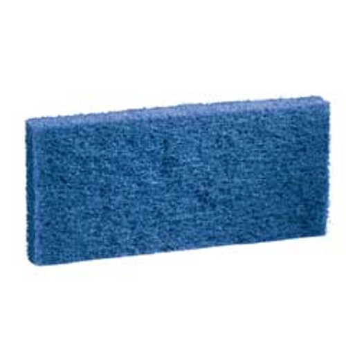 Boardwalk BWK402 blue utility pad 4x10 case of 20 replaces PAD402