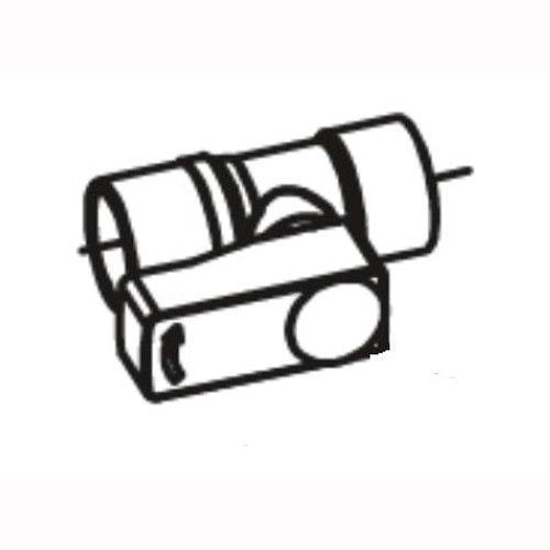 Betco E8155000 ball valve for Vispa 35B or Genie floor scrubber