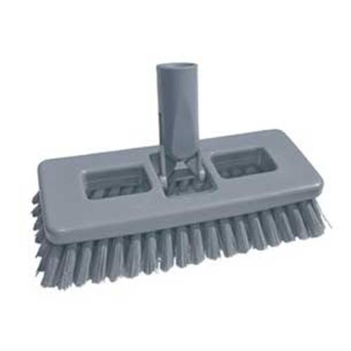 Unger SB20GGW SmartColor swivel scrub brush 8 inch with acme thread hole GW