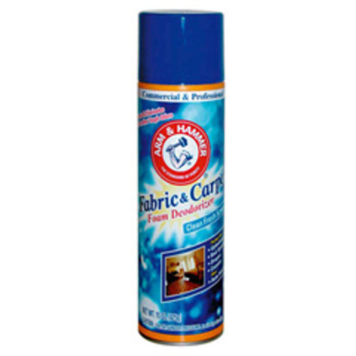 Arm and Hammer Fabric and Carpet Foam deodorizer 15oz cans case of 8 cans replaces CDC3320084128CT and CDC3320084128CT, CDC3320000514CT