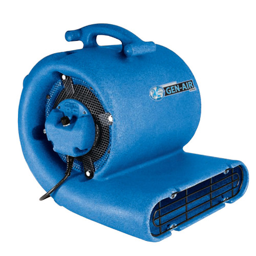 Sandia 900000 gen air mover floor dryer blower fan carpet dryer half horsepower 2500 cfm