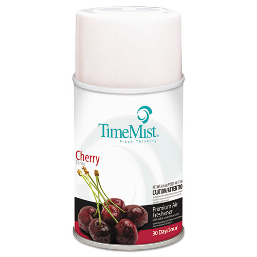 Timemist air freshener refills cherry 6.6oz case of 12 replaces tms2517 and TMS332517TMCAPT TMS1042700