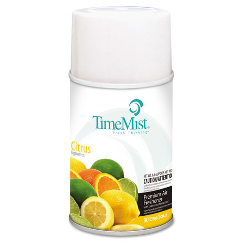 Timemist air freshener refills citrus case of 12 replaces tms2508 tms332508tmcact TMS1042781