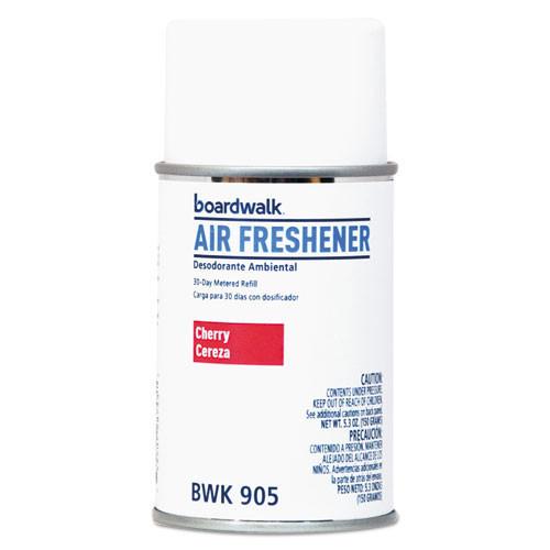 Boardwalk automatic air freshener refills Cherry Thunder 5.3oz size case of 12 replaces BLT864 BOL864 BWK905