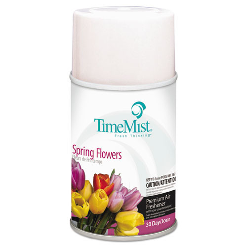Timemist air freshener refills spring flowers case of 12 replaces tms2553 and TMS332553TMCACT TMS1042712
