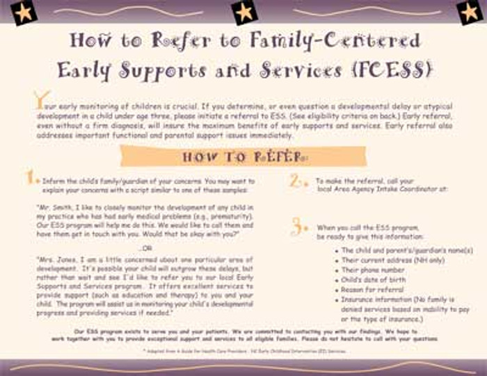 Family Centered Early Support Services