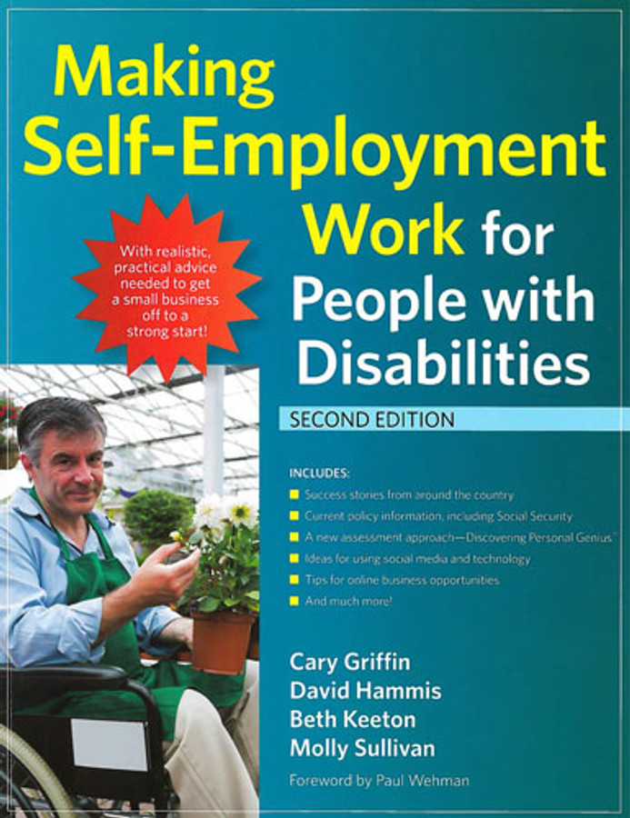 Making Self Employment Work for People with Disabilities