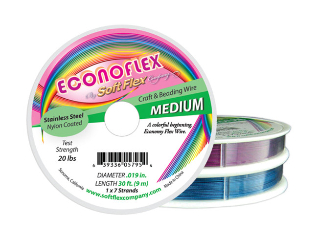 Econoflex Hobby Beading Wire (Prices Vary by Spool)
