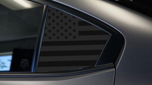 American Flag Quarter Window Decal (2015-2018 WRX/STI )