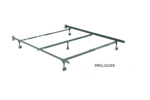 Full-Queen 5 Leg Metal Bedframe