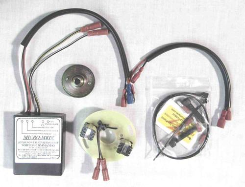 NORTON ATLAS / COMMANDO BOYER BRANSDEN MKIV 12V IGNITION SYSTEM