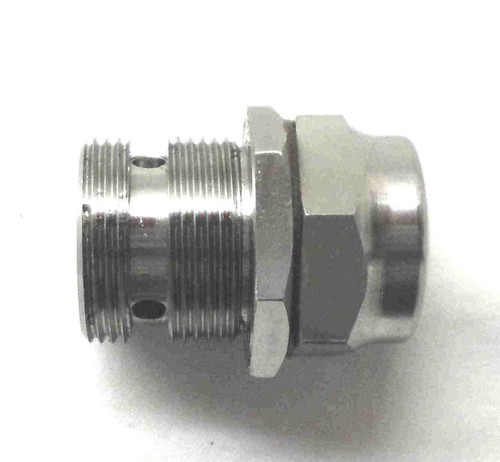 NORTON TWINS STAINLESS STEEL OIL PRESSURE RELEASE VALVE