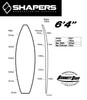 6'4 Shortboard Blank Dion Chemicals