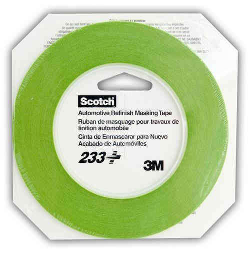 3M: 233 High Temp Resin Tape 6mm (1/4)