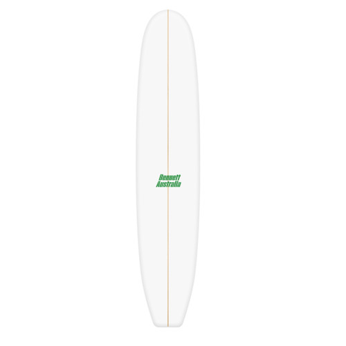 9'8 Longboard Blank Dion Chemicals