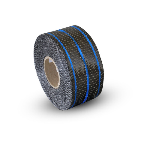 Uni Carbon Fibre Tape: 65mm Neon Blue