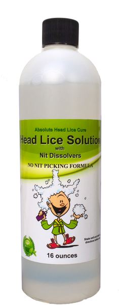 Lice Help Single 16 oz. Fully Mixed Add-On Bottle