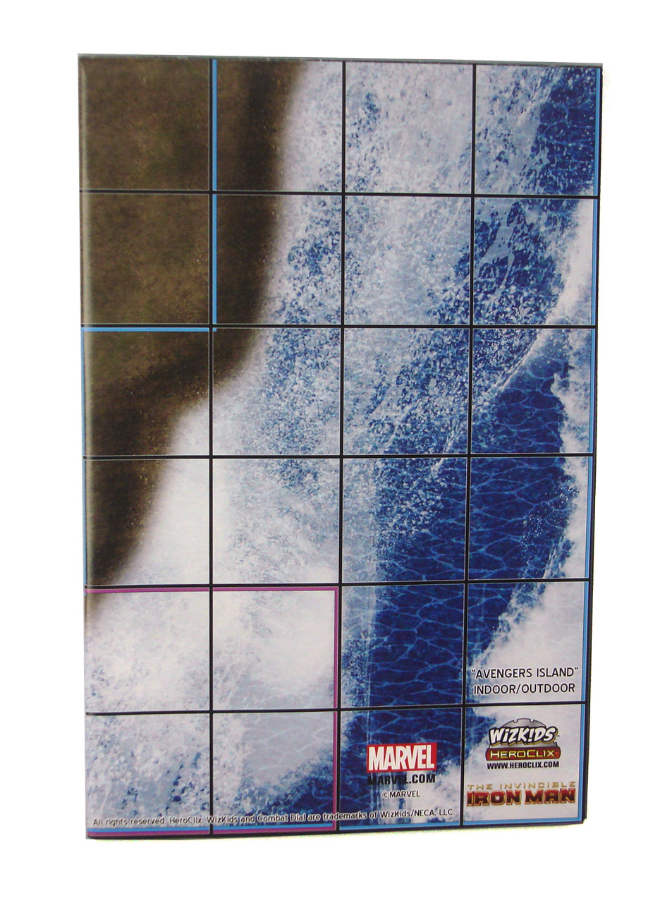 iron man office. Marvel HeroClix 2-Sided Map The Invincible Iron Man Avengers Island Office Building F