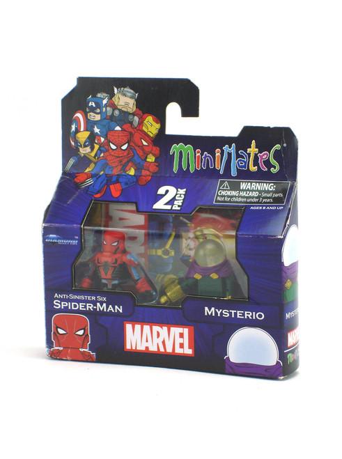Marvel Minimates Anti-Sinister Six Spider-Man & Mysterio Marvel ...