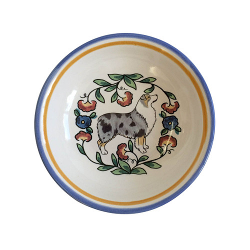 Australian Shepherd Sauce Bowl by shepherds-grove.com