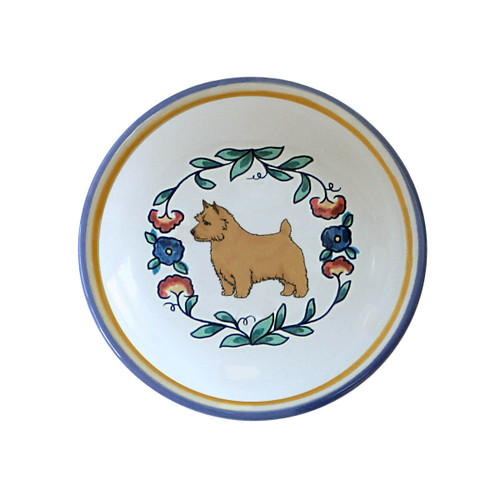 Norwich Terrier ring dish / dipping bowl from shepherds-grove.com