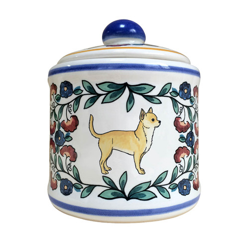 Light Fawn Chihuahua sugar bowl - handmade by shepherds-grove.com