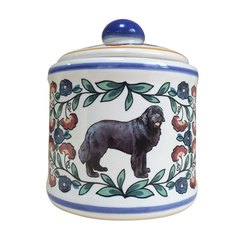 Newfoundland Dog sugar bowl - handmade by shepherds-grove.com