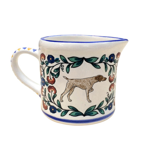 German Shorthaired Pointer Creamer - by shepherds-grove.com
