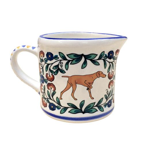 Vizsla creamer - handmade by shepherds-grove.com