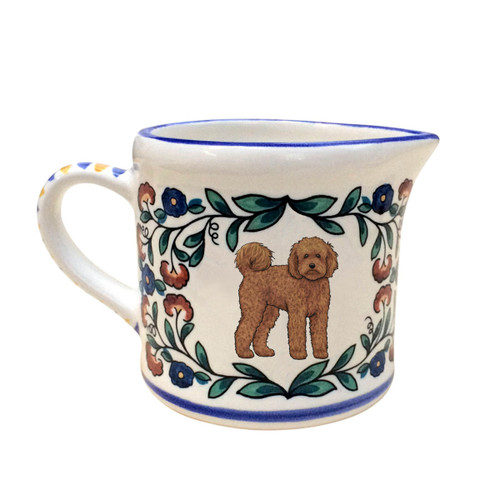 Labradoodle Creamer Pitcher