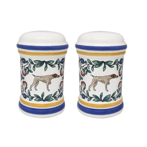 German Shorthaired Pointer salt and pepper shaker set - handmade by shepherds-grove.com
