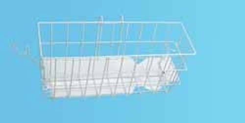 Carex Walker Basket with Snap-On Wire Brackets