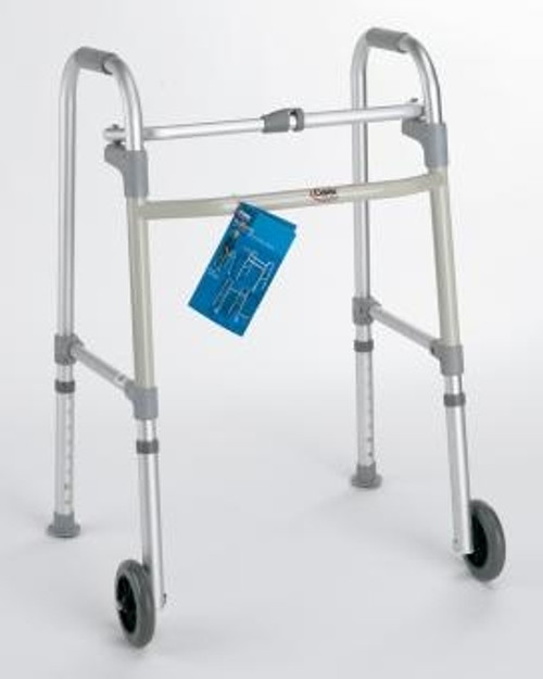 Carex Fixed Wheeled Walker with Glides