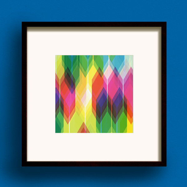 Prism Square print by Dig The Earth
