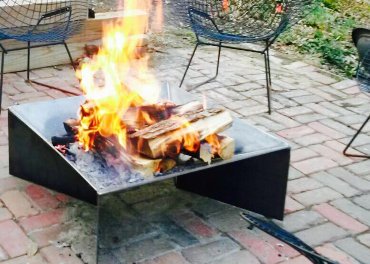 30 Inch Modern Fire Pit - Shop All - Modern Fire Pits - Heavy Duty Fire Pits