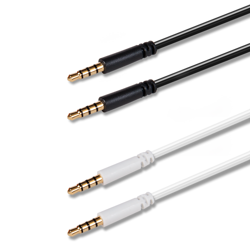 Audio Cable Twin Pack