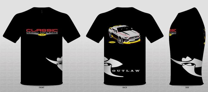 2015 CDC Outlaw TShirt