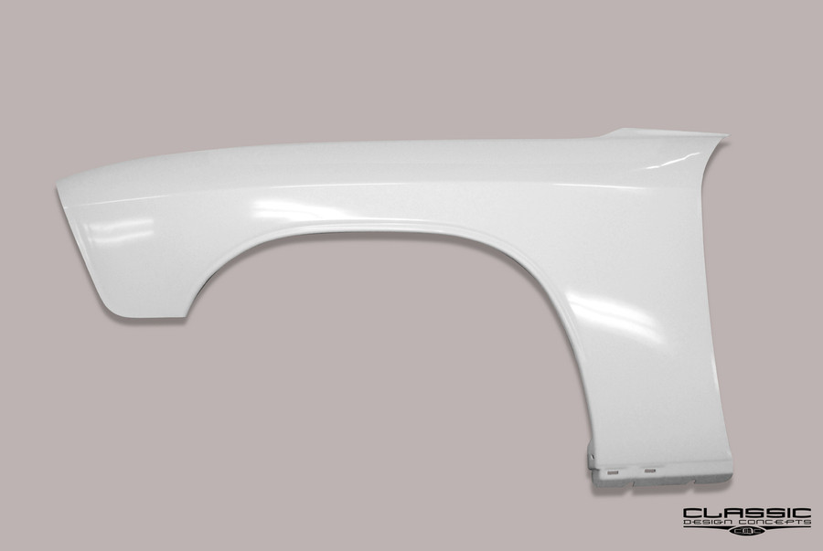 Replacement Front fender constructed of High Impact ABS.