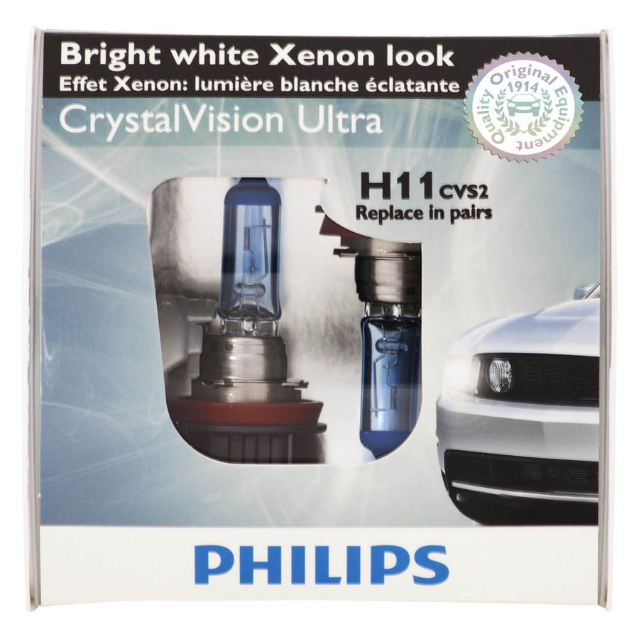 2005-2014 V6 Mustang Fog Light Crystal Vision Lamp Upgrade