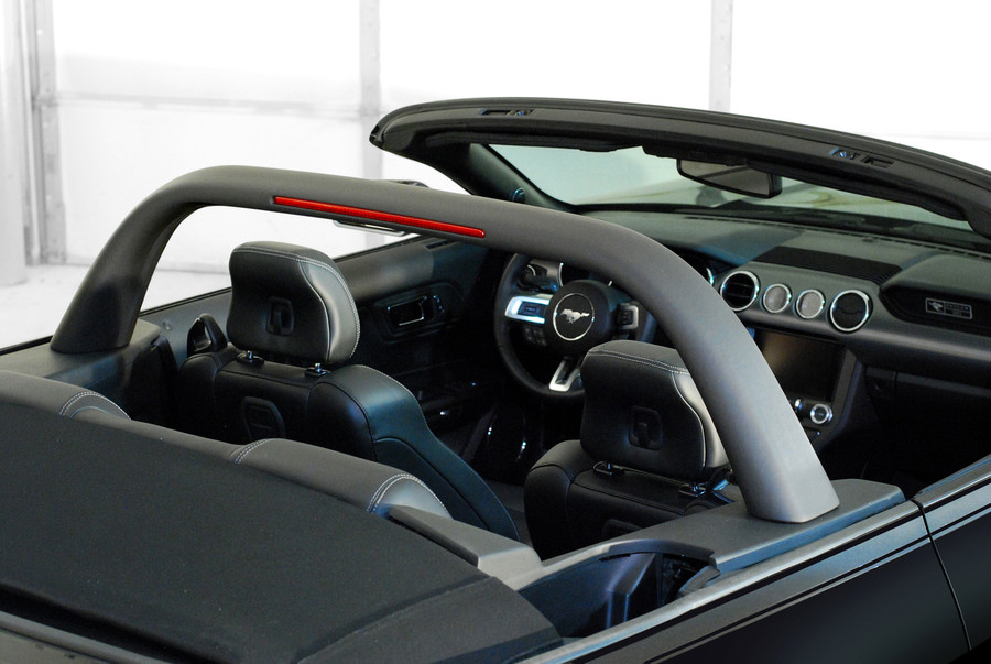 2015 Mustang Lightbar-Charcoal