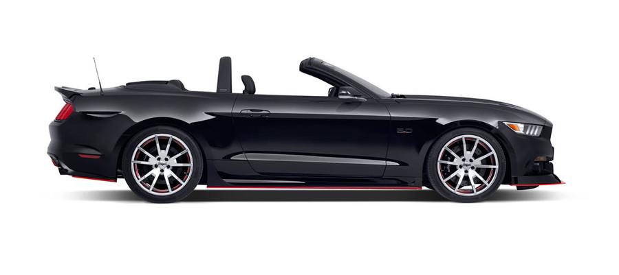 2015 Mustang Lightbar - Charcoal, Side View