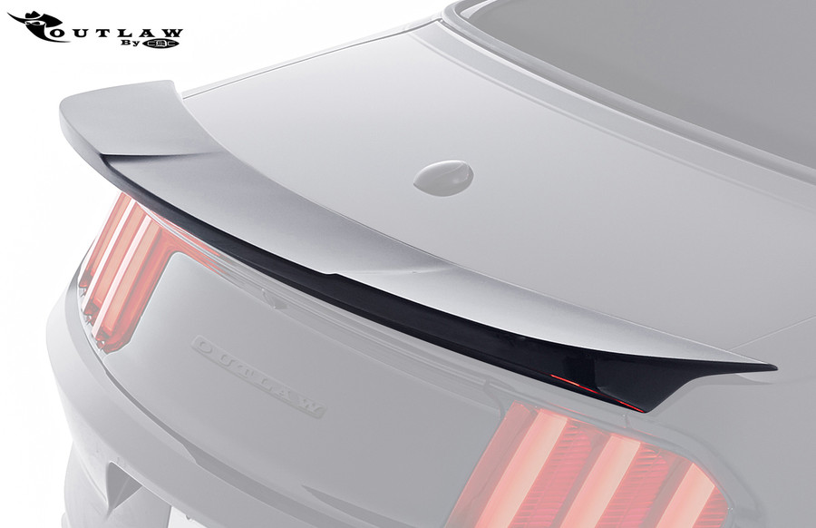 2015 Mustang Outlaw Rear Decklid Spoiler