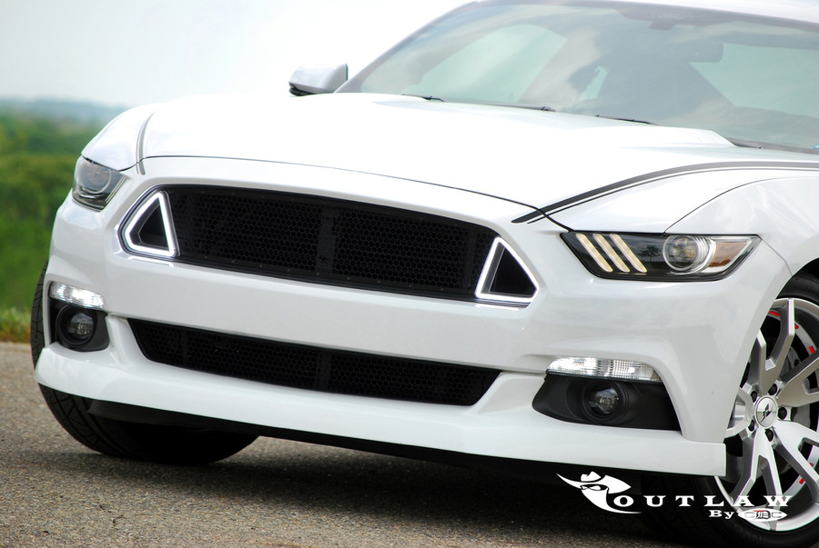 2015-17 Mustang CDC Outlaw Switchback Upper Grille