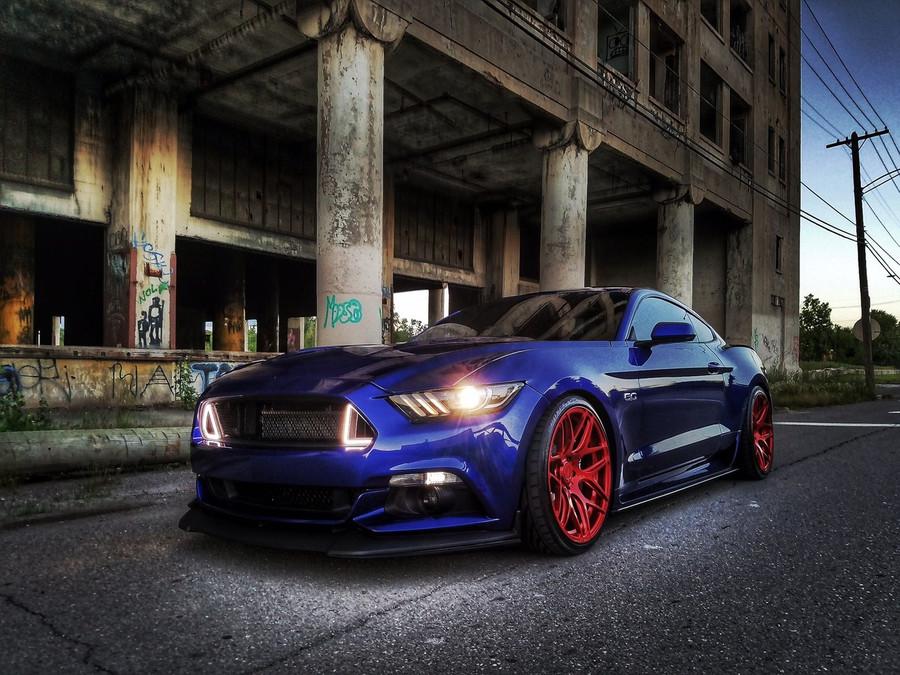 2015-18 Mustang Outlaw Side Splitters