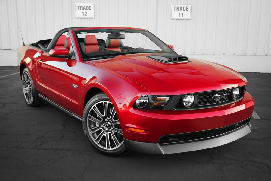 Mustang Chin Spoiler (2010-12)