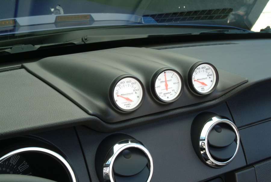 Mustang 3-Hole Gauge Pod - Paintable (2005-09)