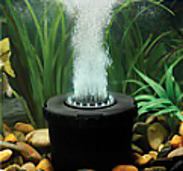 Pond aerator in use
