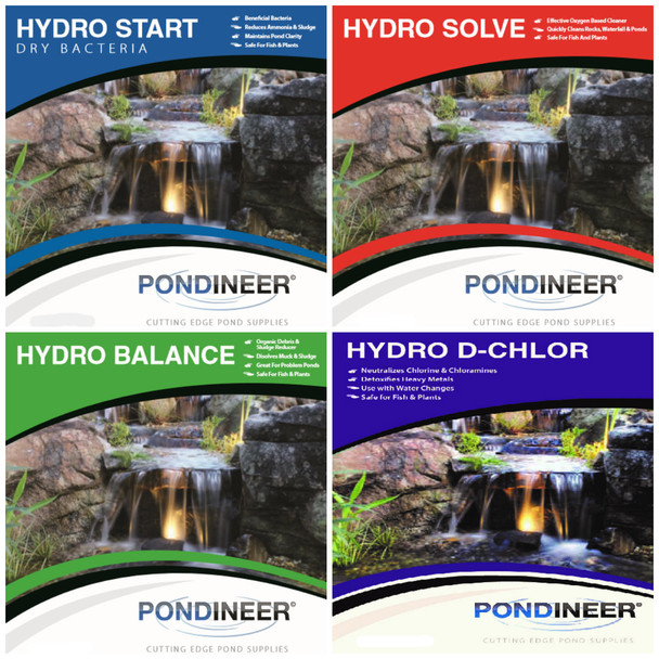 Pond Cleaning Survival Kit - save when you buy all 4